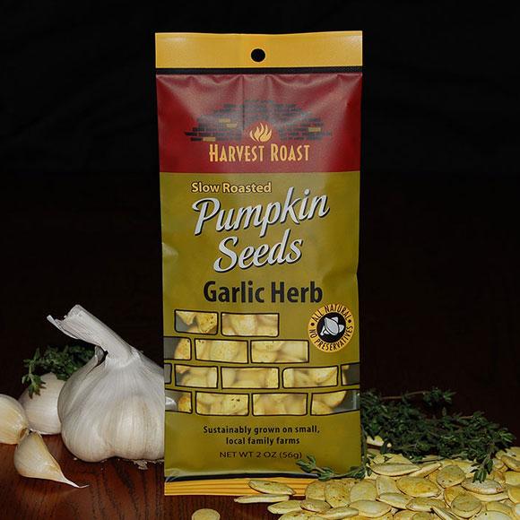 Garlic Herb Pumpkin Seeds