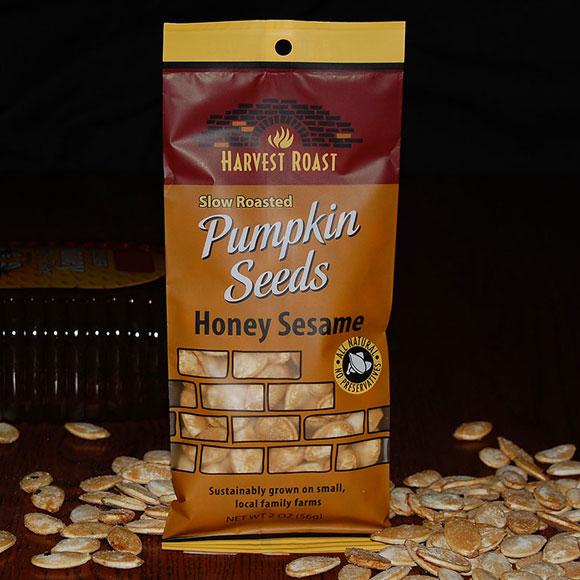 Honey Sesame Single Packet Pumpkin Seeds
